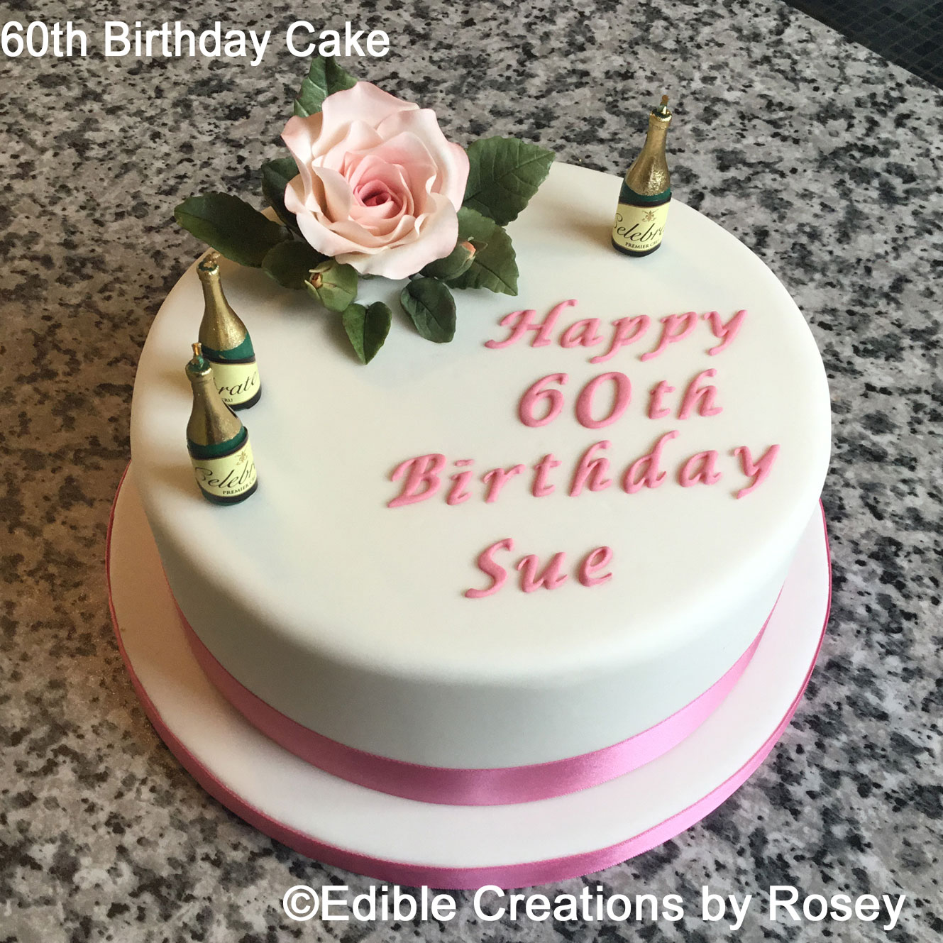 Wondrous Birthday Cakes By Edible Creations By Rosey In South West London Funny Birthday Cards Online Alyptdamsfinfo