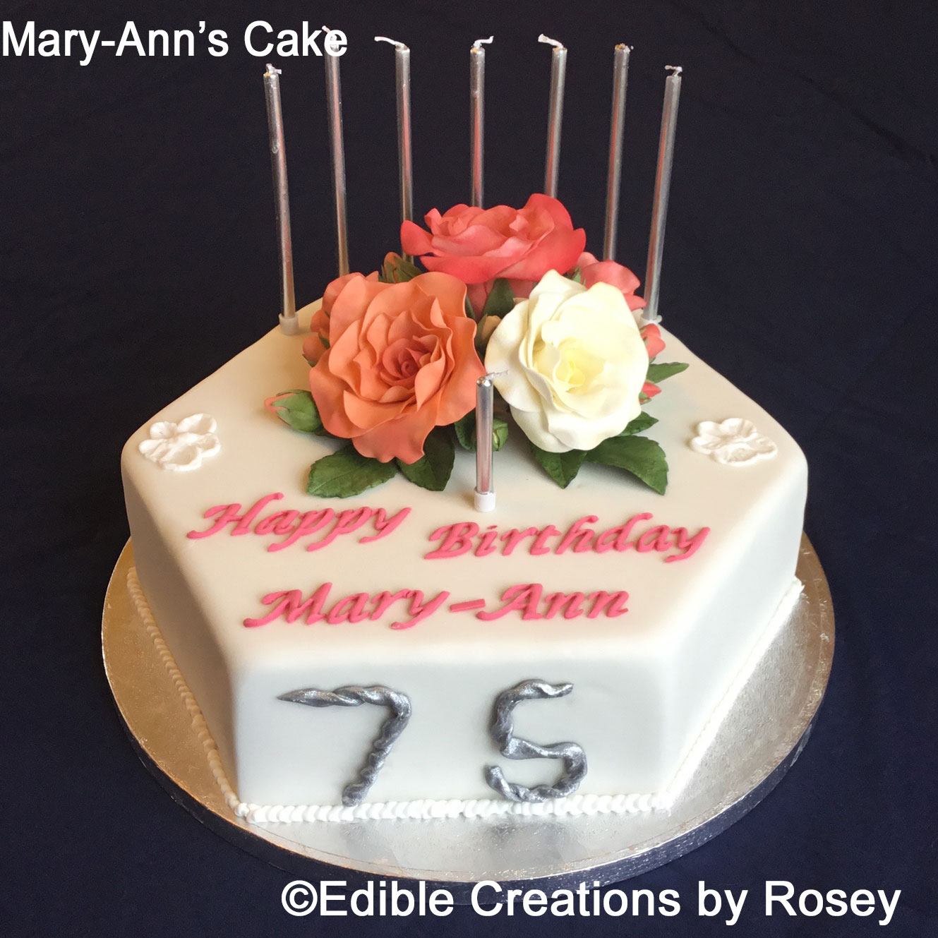 Birthday Cakes By Edible Creations By Rosey In South West London