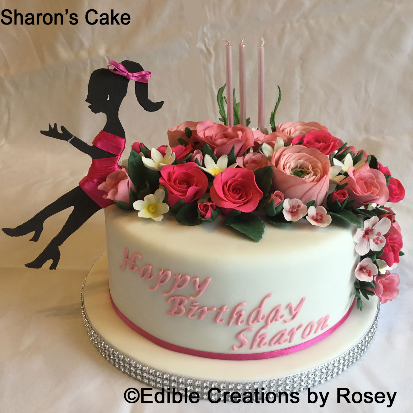 Pleasing Birthday Cakes By Edible Creations By Rosey In South West London Birthday Cards Printable Trancafe Filternl