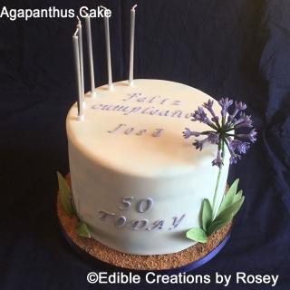 Agapanthus Cake