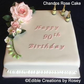 Chandos Rose Cake