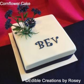 Cornflower Cake