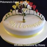 Philomena's Cake (Freesia cake)