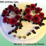 99th Birthday Cake