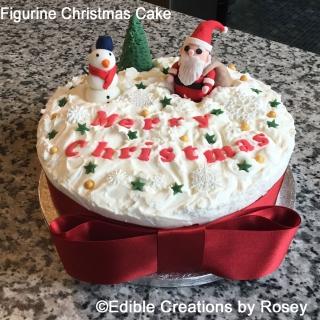 Figurine Christmas Cake