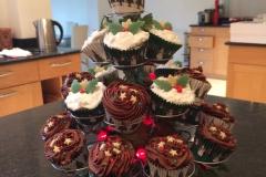 Christmas Cupcakes Tree