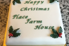Place Farm House Christmas