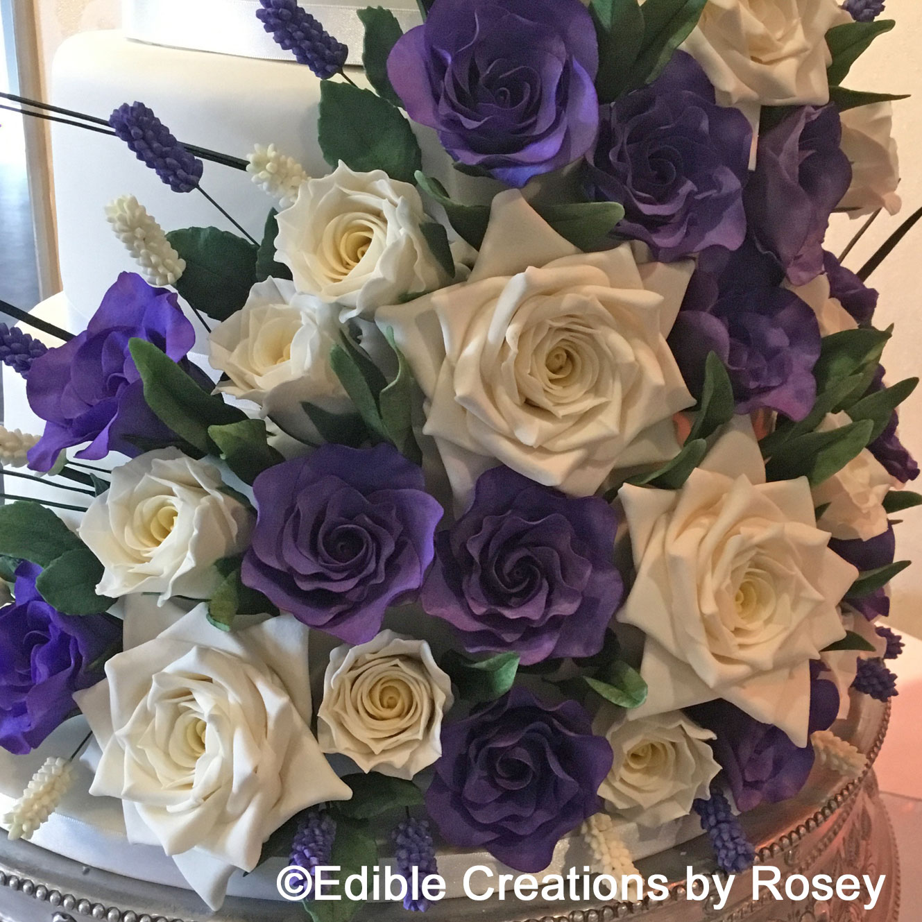 Sugarpaste Flowers By Edible Creations By Rosey South West London