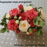 Sugarpaste Roses Arrangement