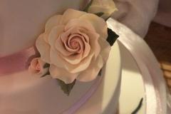 Ivory Pink Blush Roses