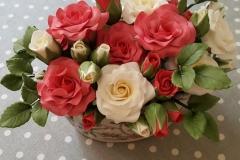Sugarpaste Roses Arrangement