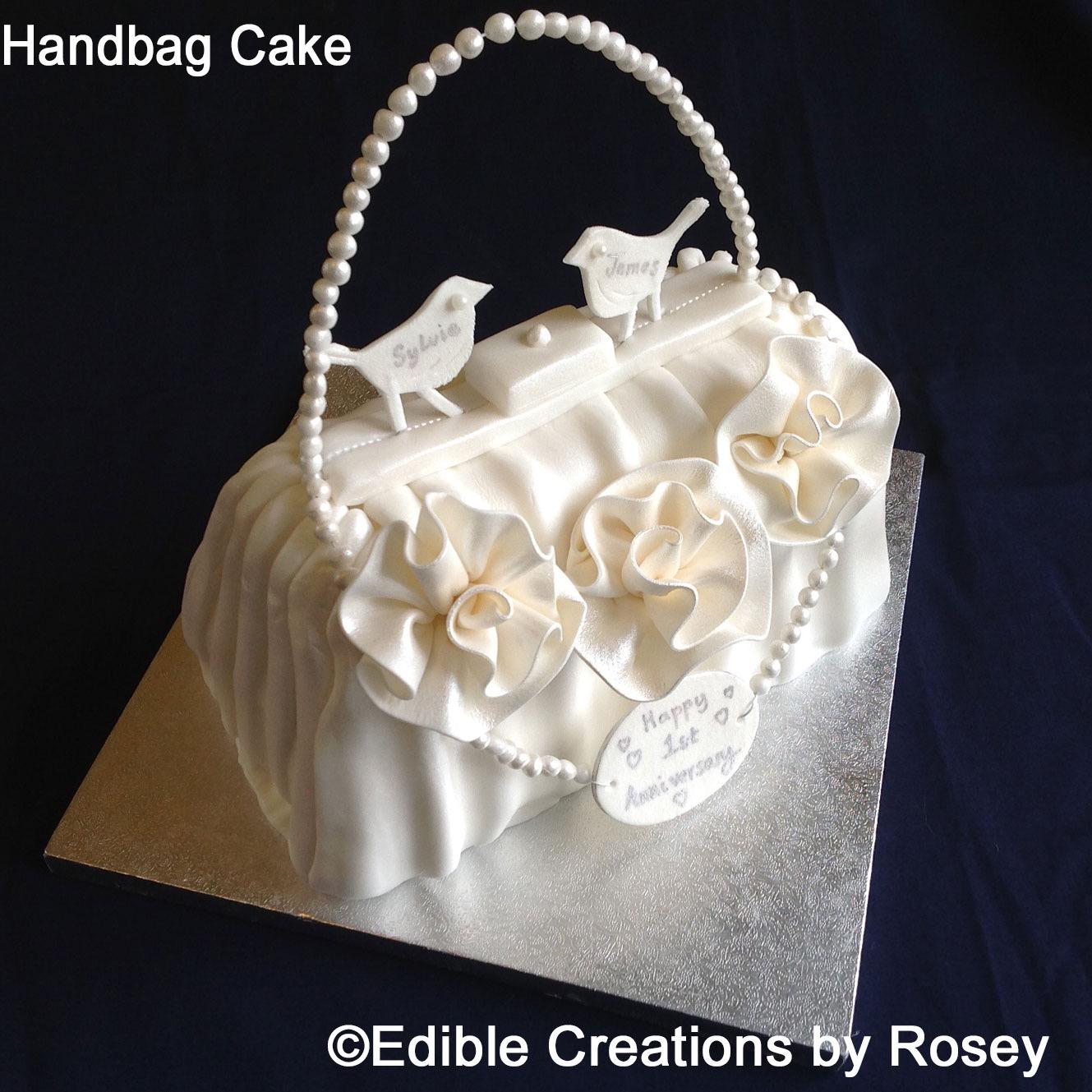 1st Wedding Anniversary Cake
