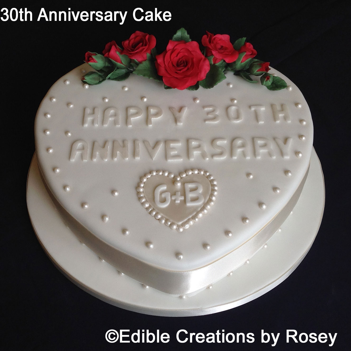 30th Anniversary Cake