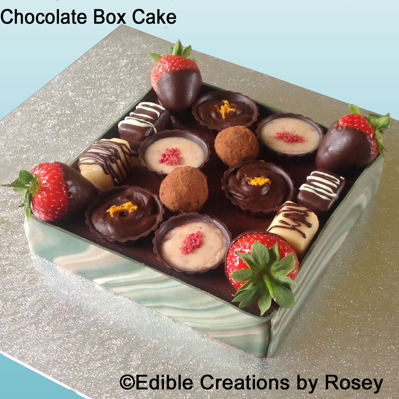 chocolate box cake chocolate box cake 2813