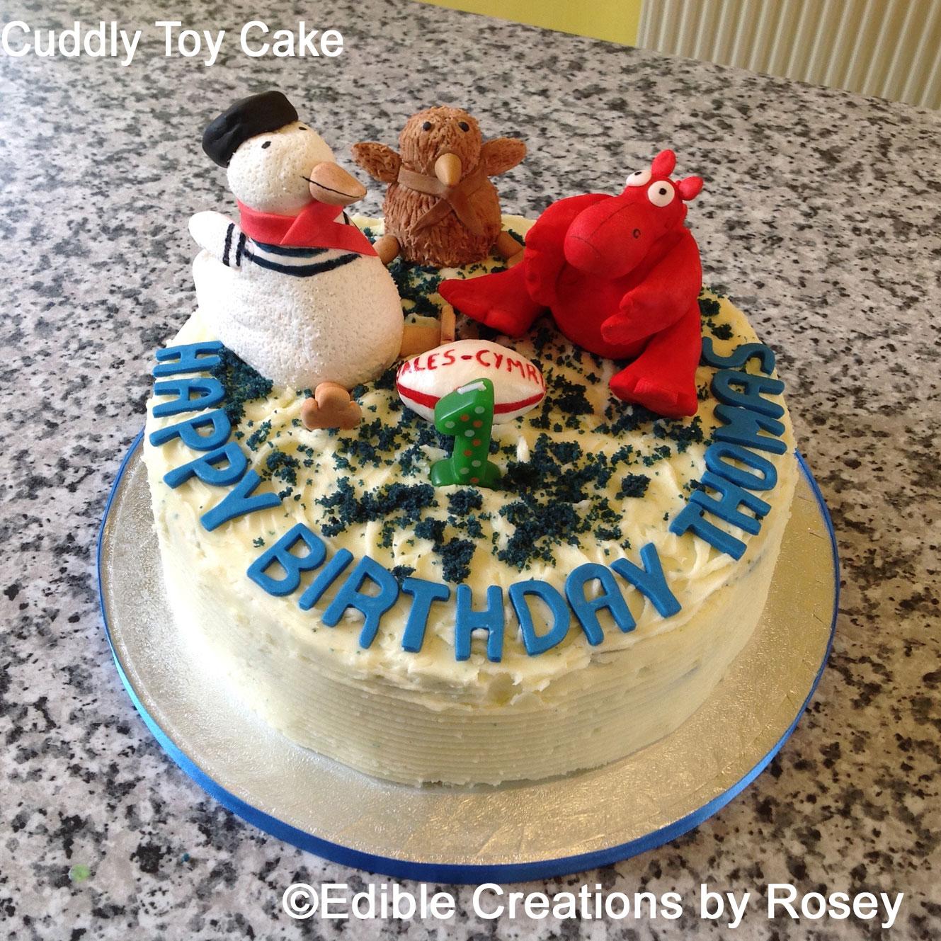 Cuddly Toy Cake