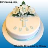 Christening Cake Boys