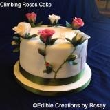 Climbing Roses Cake