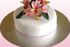 Alstroemeria Cake