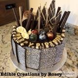Chocolate-decorations-cake