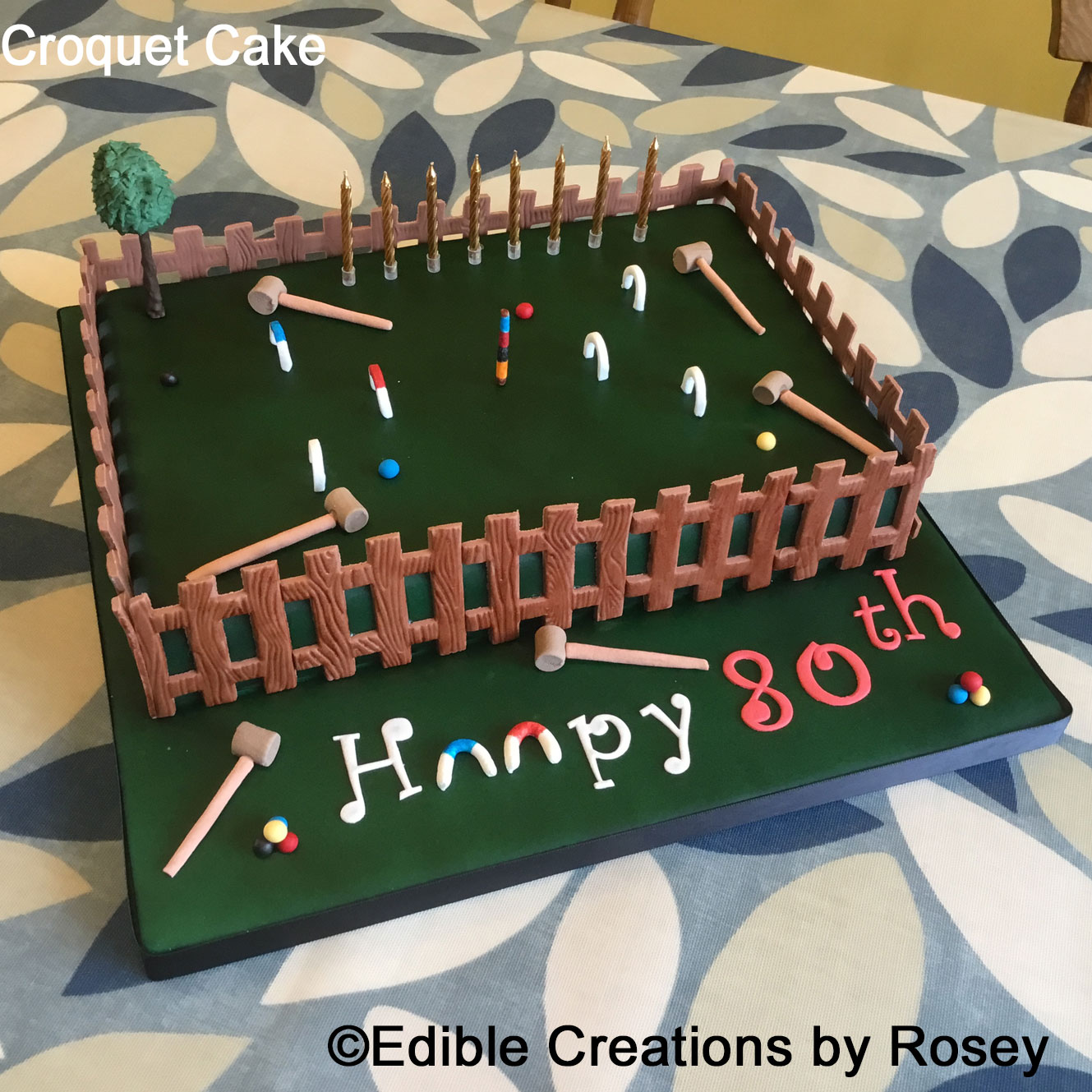 Croquet Cake