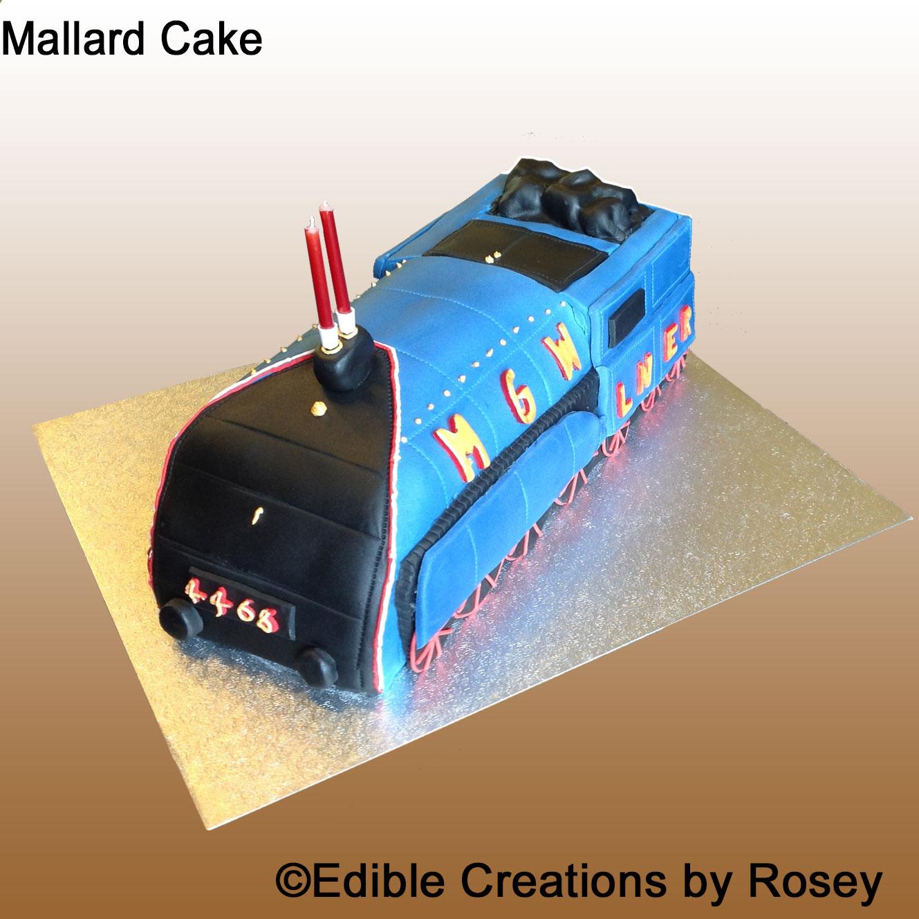 Mallard Train Cake