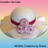 Carnation Hat Cake