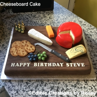 Cheeseboard Cake