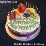 Fruit & Veg Cake