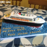 Queen Mary 2 (QM2) cake