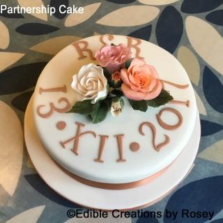 Partnership Cake
