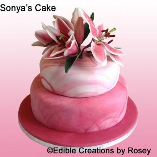 Sonya's cake