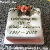 Memorial Cake
