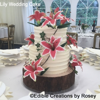 Lily Wedding Cake