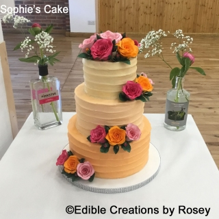 Sophie's Wedding Cake