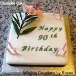 birthday cake, oleander